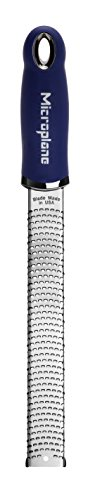 Preisvergleich Produktbild Microplane Premium Classic Zester,  Edelstahl,  Night Blau,  32, 5 x 3, 5 x 3 cm