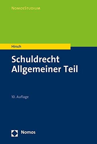 Schuldrecht Allgemeiner Teil (NomosStudium)