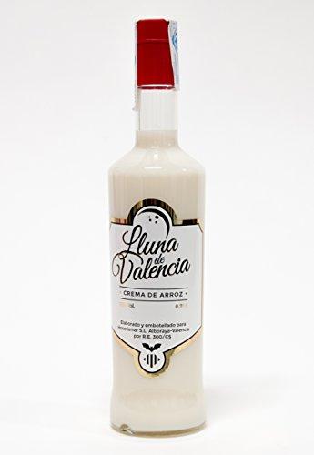 Crema de Licor de arroz. El sabor de Valencia.