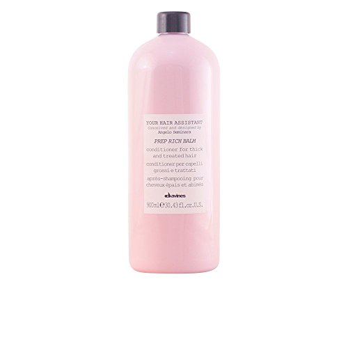 Davines Your Hair Assistant Prep Rich Balm – Conditioner for Thick to Treated Hair 900 ml