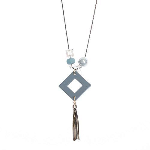 SSLL Halskette Frauen Halsketten & Anhänger Statement Long Sweater Kostüm Halskette Mit Anhänger Für Frauen Cute Jewelry