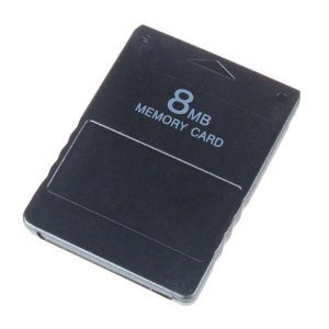 Neewer Memory Card für SONY PS2 Playstation2, 8MB, 3 Stück
