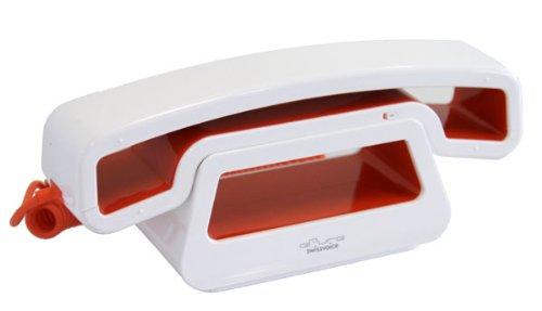 Swissvoice CH01 schnurgebundenes ePure-Handteil an Mobiltelefon, PC, Tablet orange