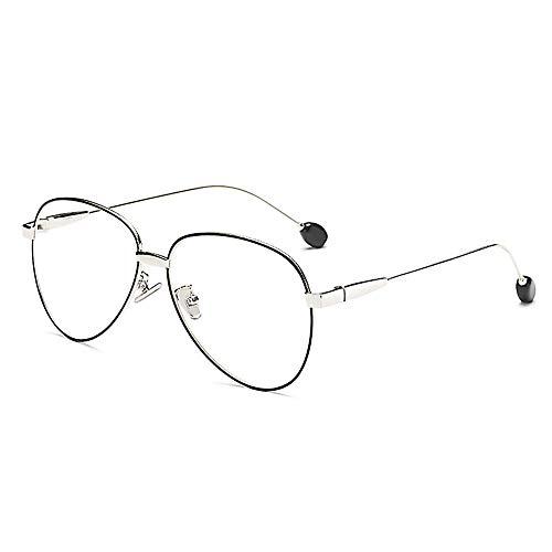 Blaues Licht Blockieren Brille Platz Nerd Brillen Rahmen Anti Blue Ray Computerspiel Brille, UV Eye Strain Kopfschmerzen Lesen Eyewear .Men/Frauen-3