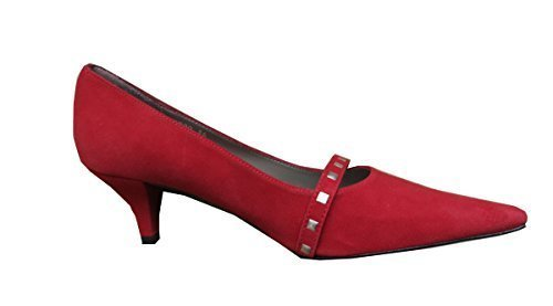 David braun sandales à talons de forme en pointe rouge Rouge - Rouge