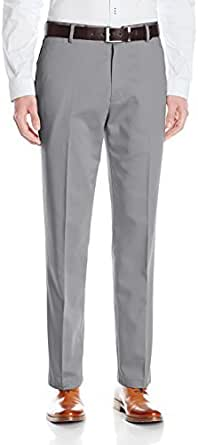 dockers Men's No Wrinkle Straight Fit Flat Front Pant