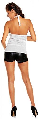 Zeta Ville - maternité - top grossesse - t-shirt grossesse - d'été - femme -167c Blanc