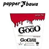 Papper Bawa Captain GOGO Pre Rolled Paper -White/Perfect Roll/Smoking Roll/King Size/Filter Paper/Pe Rolled Cone-50 + 6 Piece Free