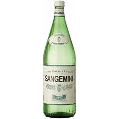12 Bottiglie ACQUA SANGEMINI NATURALE 1/1 VETRO A PERDERE