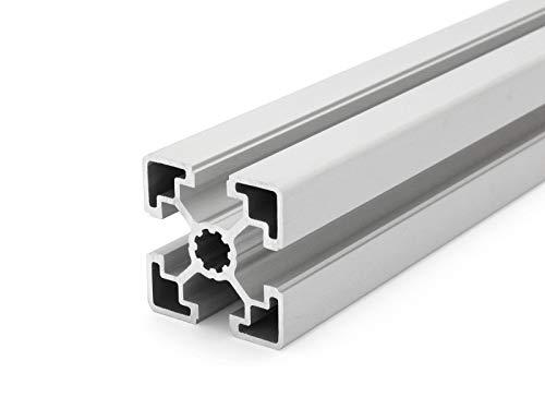 Perfil de aluminio 45mm x 45 mm, tipo de tuerca 10, longitudes estándar