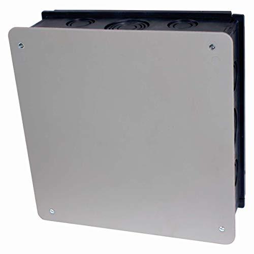 Abzweigkasten Unterputz 210x210x73 mit weissem Deckel aus Kunststoff