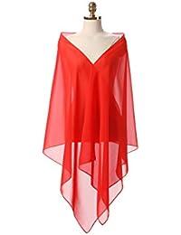 Coco Girls gasa estola bufanda para ropa en diferentes colores a cualquier vestido de novia –
