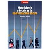 METODOLOGIA Y TECNICAS DE INVESTIGACION SOCIAL. 2 ED.
