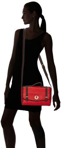 Tamaris JAMILA Satchel Bag, Borsa a spalla donna Rosso (Rot (red 500))