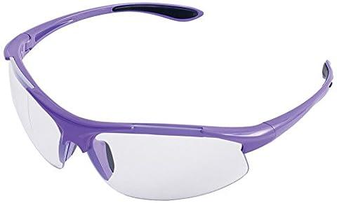 ERB 18624Ella Schutzbrille mit Lila Frame & Clear Lens (12Stück)