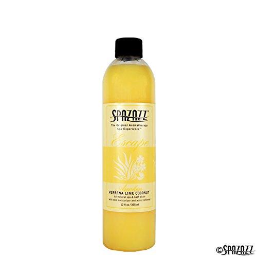 Spazazz spz-125Escape Aromatherapie Elixir Flasche, ML, Verbena Lime Coconut Wecken