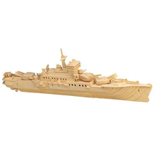 ETNA Iława Kreuzer 3D Holzbausatz Schiff Boot Holz Steckpuzzle Holzpuzzle Kinder P047