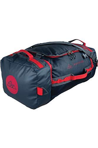 NORDKAMM - Reisetasche 60l mit Rucksack-Funktion, Duffle Bag, blau, faltbar, groß, für Damen und Herren, als Umhängetasche oder Rucksack