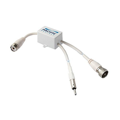 Pacific Aerial : VHF/AM/FM Broadcast Band Splitter P7101 by Pacific Aerials Vhf Marine Band