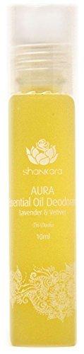 Shankara Aura Essential Oil Deodorant - All Natural Deodorant - Vegan, Anti-Bacterial, Odor-Fighting Deodorant...