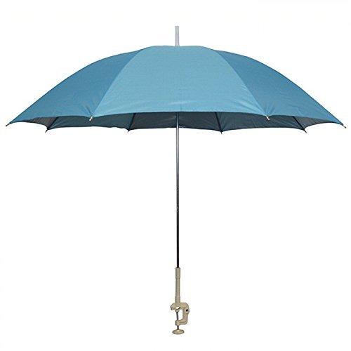 Probeach Außen Garten Balkon Stuhl Regenschirm Sonnenschirm - Blau