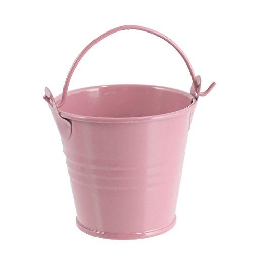 Geschenkverpackung - Rosa, S (Rosa Metall Eimer)