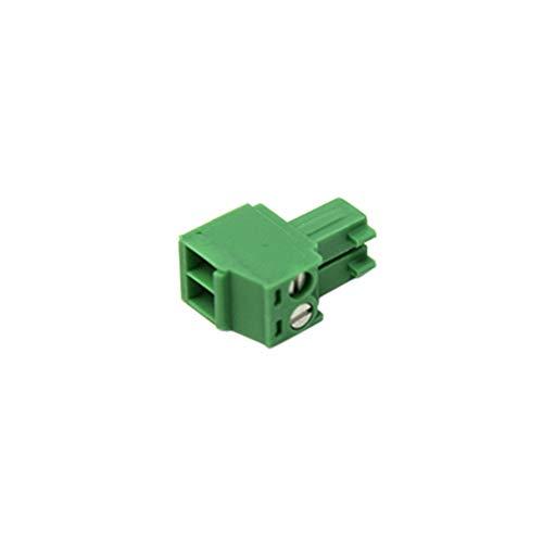 MC1.5/2-ST-3.5 Pluggable terminal block plug 3.5mm ways 2 8A 160V -