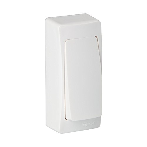 Legrand, 097341 Oteo - Interruptor de pared, interruptor conmutador superficie de la...