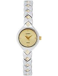 Timex Empera Analog Gold Dial Women's Watch-TI000O90400