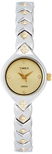 Timex Empera Analog Gold Dial Women's Watch - TI000O90400