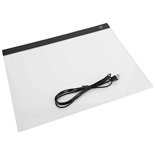 Garosa A3 LED Zeichnung Copy Board Tracing Light Box Schablone Ultra Thin Einstellbare Helligkeit Zeichnung Copy Pad für Tätowierer Gestaltung Skizzieren Grafiken Animation