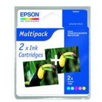 Epson C13T00940210 - T009 Twin Pack - Print cartridge - 2 x colour (cyan. magenta. yellow. light cyan. light magenta) - 330 pages