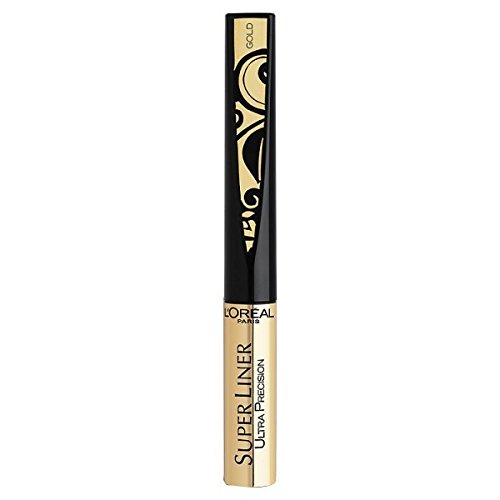 L'Oréal Paris Super Liner Ultra Precision Farbe: Gold / Schwarz Inhalt: 1,5ml Liquid Eyeliner für...