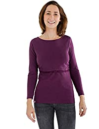becf7465b1843 Bshirt Breastfeeding Nursing Long Sleeve Top. Organic and Ethical.