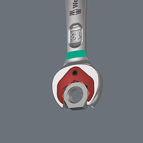 Wera 05020012001 Joker Maul-Ringratschenschlüssel-Satz, zöllig, 8-TLG