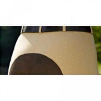 Damen-Reithose Lugana Special Edition von Pikeur S schwarz - Body Protector Pferd