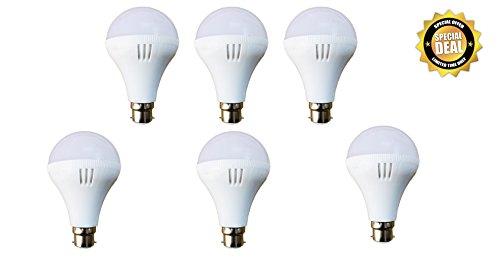 Chinese 7 Watt Plastic LED Bulb(Cool Day Light)