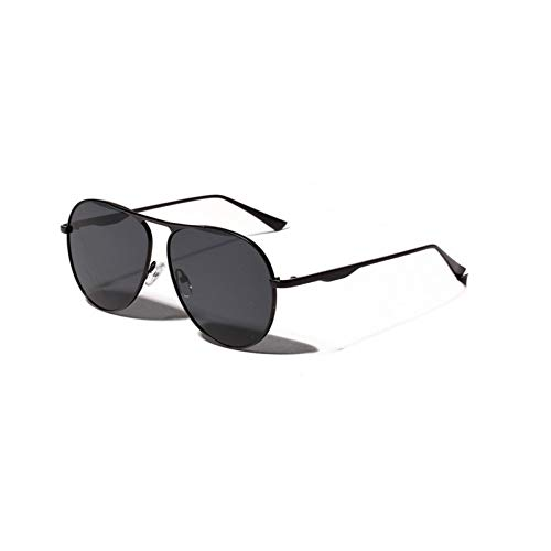 LLISA Mode Metall Red Frog Spiegel Sonnenbrille Frauen Pilot Big Face Big Frame Brille Uv400 Schutz Brillen,A1