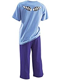 adonia mode Frecher Damen-Pyjama Capri Gr.32/34 - 56/58