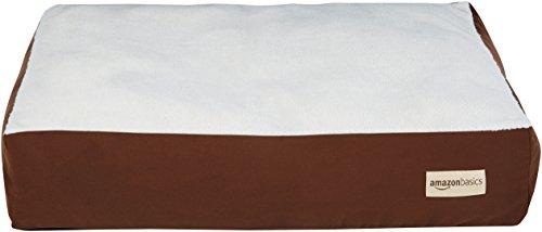 AmazonBasics - Cama para mascotas con almohada, XL