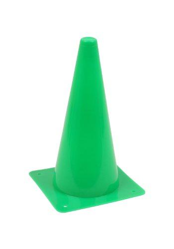 Vinex 1 Stück Hütchen, Kegel, Pylon 30cm Höhe, grün -