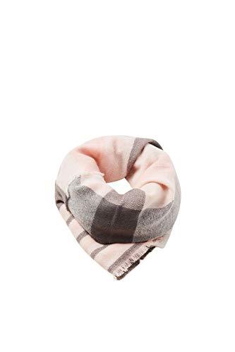 ESPRIT Accessoires Damen Schal 098EA1Q005, Rosa (Blush 665), One Size (Herstellergröße: 1SIZE)