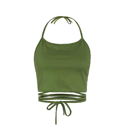Gilet, t-shirt da donna elegante - uomogo estate sportivi sexy donne camicia fitness senza maniche maglietta tops donna moda