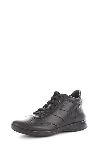 Lion 8498 Sneakers Uomo Pelle Nero Nero 43
