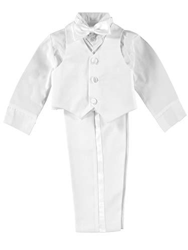 kaifer Baby Jungen 5-teilig Tuxedo Gr. 18 Monate, Weiß - Weiß
