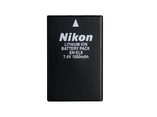 Nikon Lithium-Ionen Akku EN-EL9 (Nikon Lithium-batterie)