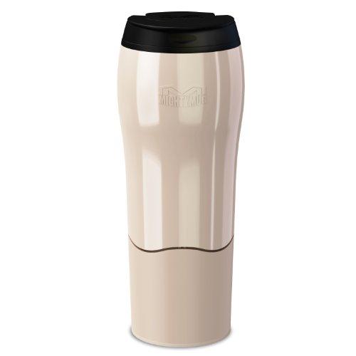 Dexam Mighty Mug Go Thermobecher, fällt Nicht um, 0,47l, Pearl