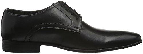 Tamboga 3158-C, Chaussures à Lacets Homme Noir (01)