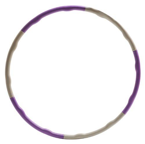 Yogistar Hula Hoop Wave, Violett/Grau Preisvergleich