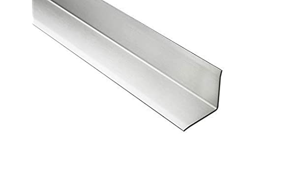 2 Meter Eckschutzprofil L-Form V2A Stainless Steel Various Sizes HEX240 -  Silverware, 12mm: Amazon.co.uk: DIY & Tools